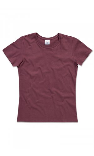 Classic-T for women [Burgundy Red, S]