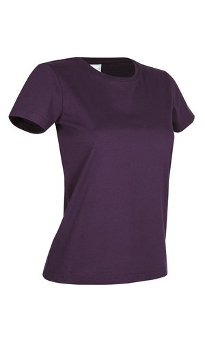Classic-T for women [Deep Berry, S]