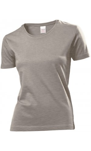 Classic-T for women [Grey Heather, S]