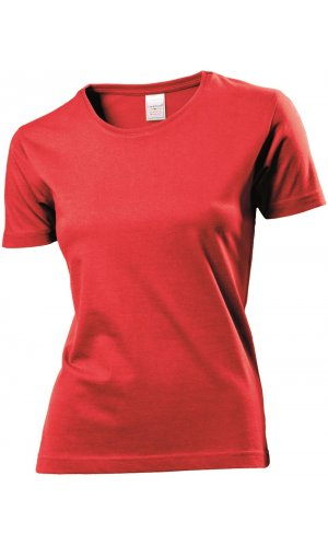 Classic-T for women [Scarlet Red, S]