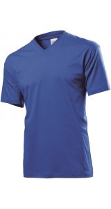 Classic-T V-Neck [Bright Royal, L]