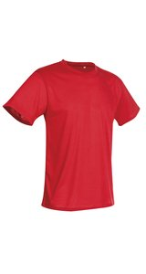 Active Cotton Touch Crew Neck [Crimson Red, S]