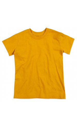 Jamie Organic Crew Neck for children [Indian Yellow, 122/128]