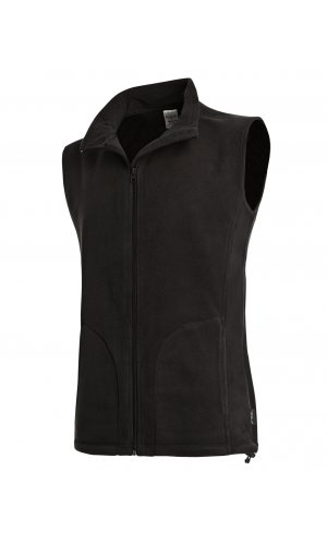 Active Fleece Vest [Black Opal, S]