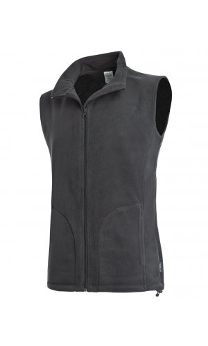 Active Fleece Vest [Grey Steel (Solid), S]