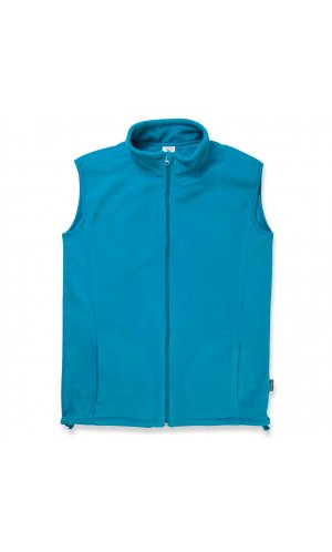 Active Fleece Vest [Hawaii Blue, S]