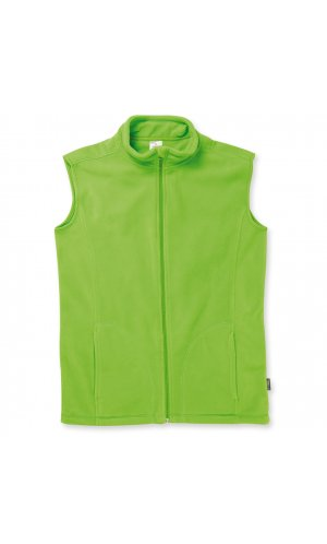 Active Fleece Vest [Kiwi Green, S]