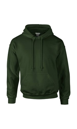 DryBlend Hooded Sweatshirt [Forest Green, XL]