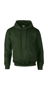 DryBlend Hooded Sweatshirt [Forest Green, 2XL]