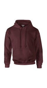 DryBlend Hooded Sweatshirt [Maroon, XL]