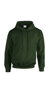 Heavy Blend Hooded Sweatshirt [Forest Green, M]