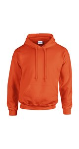 Heavy Blend Hooded Sweatshirt [Orange, 2XL]
