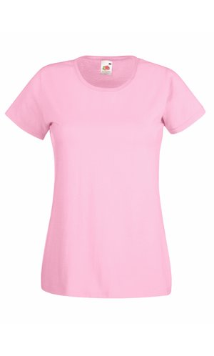 Lady-Fit Valueweight T, Fotl   [Rosa, XS]