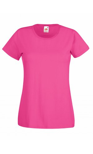 Lady-Fit Valueweight T, Fotl   [Fuchsia, XS]