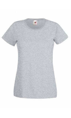 Lady-Fit Valueweight T, Fotl   [Graumeliert, XS]