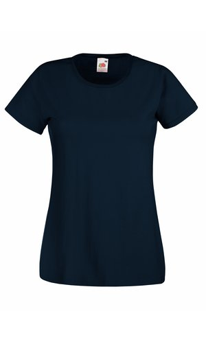 Lady-Fit Valueweight T, Fotl   [Deep Navy, XS]