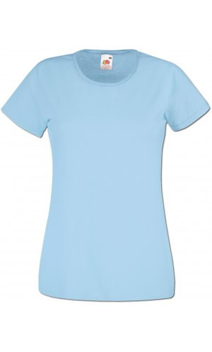 Lady-Fit Valueweight T, Fotl   [Pastellblau, XS]