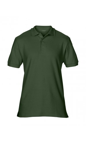 Premium Cotton® Double Piqué Polo [Forest Green, S]