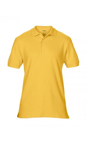 Premium Cotton® Double Piqué Polo [Gold, S]