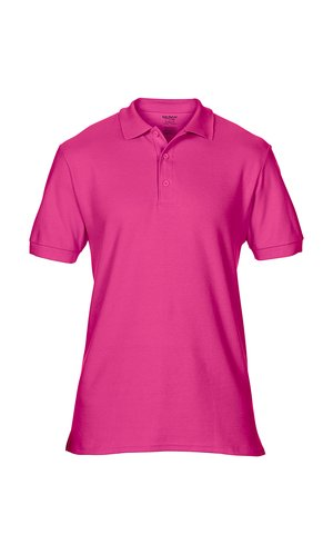 Premium Cotton® Double Piqué Polo [Heliconia, S]