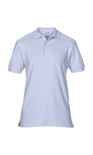 Premium Cotton® Double Piqué Polo [Light Blue, S]