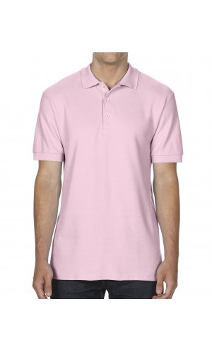Premium Cotton® Double Piqué Polo [Light Pink, S]
