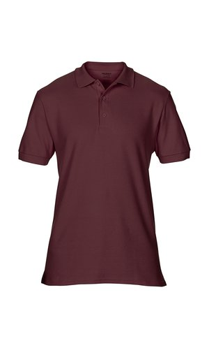 Premium Cotton® Double Piqué Polo [Maroon, S]