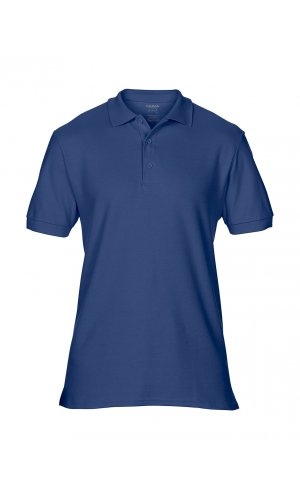Premium Cotton® Double Piqué Polo [Navy, S]