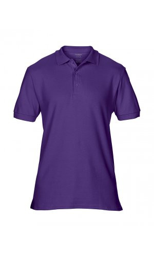 Premium Cotton® Double Piqué Polo [Purple, S]