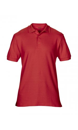 Premium Cotton® Double Piqué Polo [Red, S]