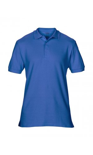 Premium Cotton® Double Piqué Polo [Royal, S]
