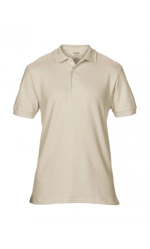 Premium Cotton® Double Piqué Polo [Sand, S]