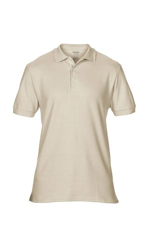 Premium Cotton® Double Piqué Polo [Sand, L]