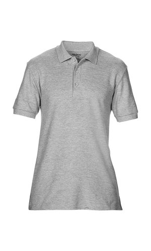 Premium Cotton® Double Piqué Polo [Sport Grey (Heather), S]