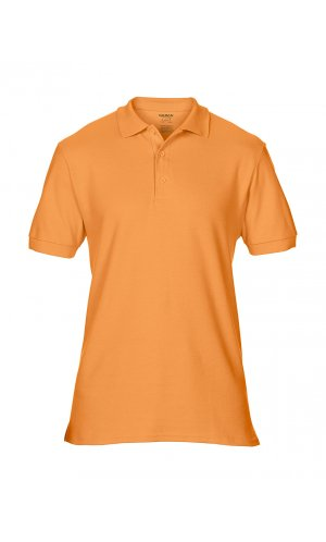 Premium Cotton® Double Piqué Polo [Tangerine, S]