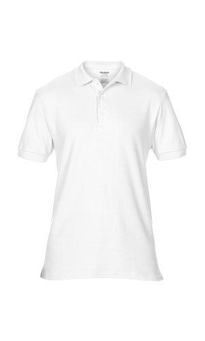 Premium Cotton® Double Piqué Polo [White, S]