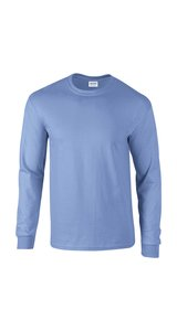 Ultra Cotton? Long Sleeve T- Shirt [Carolina Blue, XL]