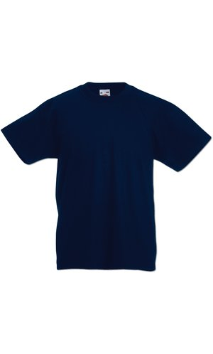 Kids Valueweight T, Fotl   [Deep Navy, 104]