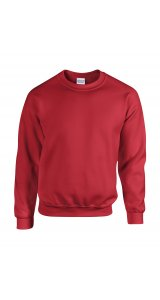 Heavy Blend Crewneck Sweatshirt [Red, S]