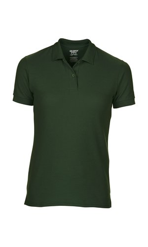 DryBlend Ladies Double Piqué Polo [Forest Green, M]
