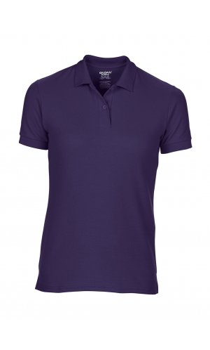 DryBlend Ladies Double Piqué Polo [Purple, M]