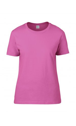 Premium Cotton® Ladies` T-Shirt [Azalea, S]