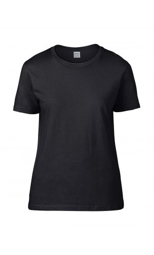 Premium Cotton® Ladies` T-Shirt [Black, S]