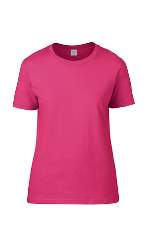 Premium Cotton® Ladies` T-Shirt [Heliconia, S]