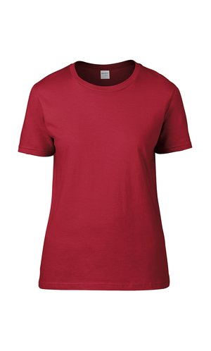 Premium Cotton® Ladies` T-Shirt [Red, S]