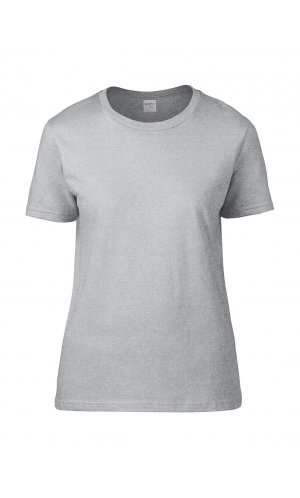 Premium Cotton® Ladies` T-Shirt [Sport Grey (Heather), S]