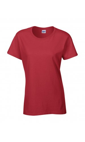 Heavy Cotton? Ladies´ T-Shirt [Red, S]