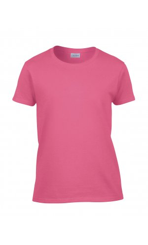 Heavy Cotton? Ladies´ T-Shirt [Safety Pink, S]