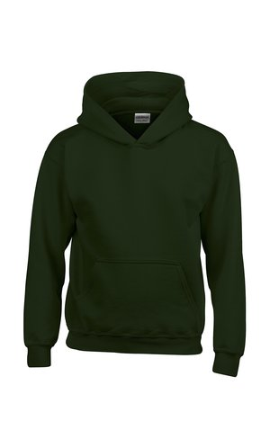 Heavy Blend? Youth Hooded Sweatshirt [Forest Green, 164]
