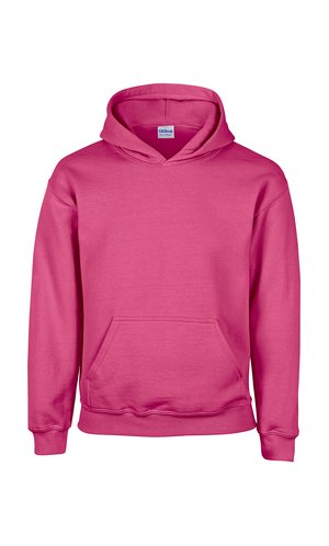 Heavy Blend? Youth Hooded Sweatshirt [Safety Pink, 164]